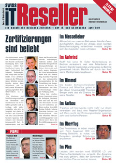 Swiss IT Reseller Cover Ausgabe 2011/itm_201104