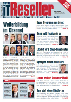 Swiss IT Reseller Cover Ausgabe 2014/itm_201405