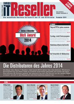 Swiss IT Reseller Cover Ausgabe 2014/itm_201411