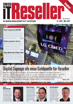 Swiss IT Reseller Cover Ausgabe 201703