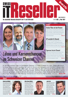 Swiss IT Reseller Cover Ausgabe 2017/itm_201705