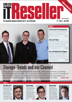 Swiss IT Reseller Cover Ausgabe 2017/itm_201707