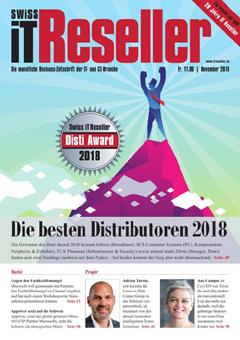 Swiss IT Reseller: Cover der  Ausgabe 2018/11