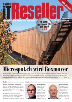 Swiss IT Reseller Cover Ausgabe 2018/itm_201801