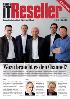 Swiss IT Reseller: Cover der Ausgabe 2018/03
