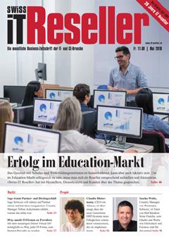 Swiss IT Reseller: Cover der Ausgabe 2018/05