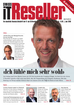 Swiss IT Reseller Cover Ausgabe 201806
