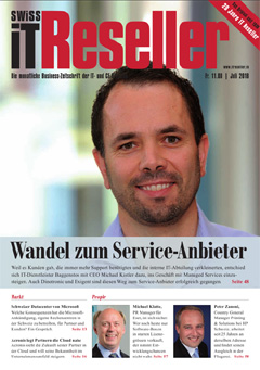 Swiss IT Reseller Cover Ausgabe 2018/itm_201807