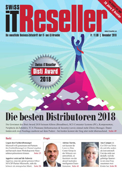 Swiss IT Reseller Cover Ausgabe 2018/itm_201811