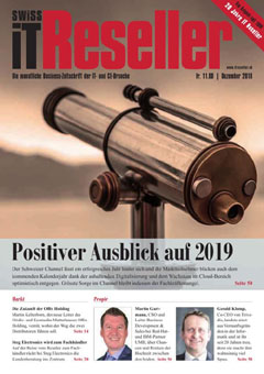 Swiss IT Reseller Cover Ausgabe 201812