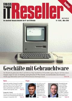 Swiss IT Reseller: Cover der Ausgabe 2019/03