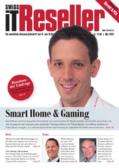 Swiss IT Reseller: Cover der  Ausgabe 2019/05