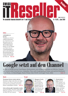 Swiss IT Reseller: Cover der  Ausgabe 2019/06