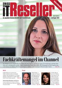 Swiss IT Reseller: Cover der Ausgabe 2019/07