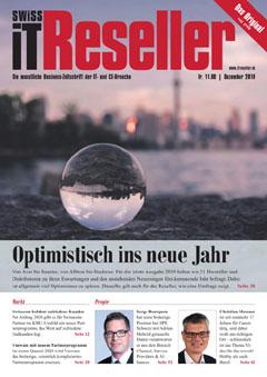 Swiss IT Reseller: Cover der Ausgabe 2019/12