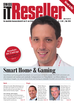 Swiss IT Reseller Cover Ausgabe 2019/itm_201905