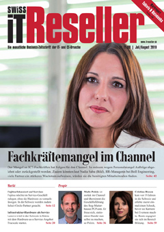 Swiss IT Reseller Cover Ausgabe 201907