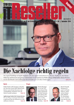 Swiss IT Reseller Cover Ausgabe 2019/itm_201909