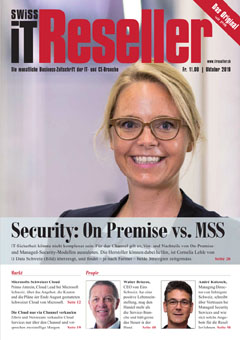 Swiss IT Reseller Cover Ausgabe 2019/itm_201910