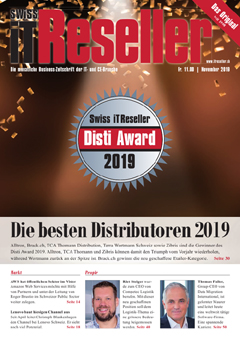 Swiss IT Reseller Cover Ausgabe 2019/itm_201911