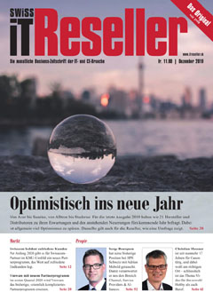 Swiss IT Reseller Cover Ausgabe 201912