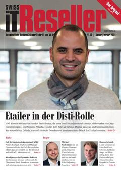 Swiss IT Reseller: Cover der  Ausgabe 2020/01