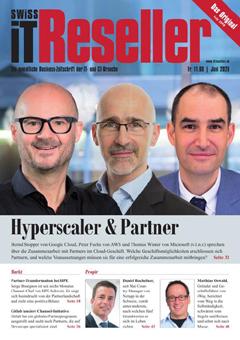 Swiss IT Reseller: Cover der Ausgabe 2020/06