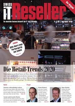Swiss IT Reseller: Cover der Ausgabe 2020/07