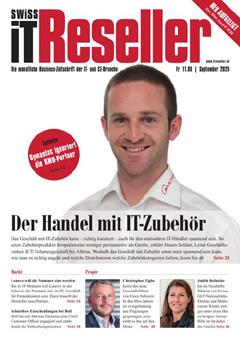 Swiss IT Reseller: Cover der Ausgabe 2020/09