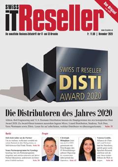 Swiss IT Reseller: Cover der Ausgabe 2020/11