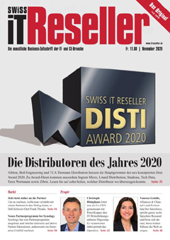 Swiss IT Reseller Cover Ausgabe 202011
