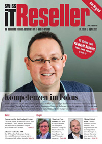 Swiss IT Reseller Cover Ausgabe 202104