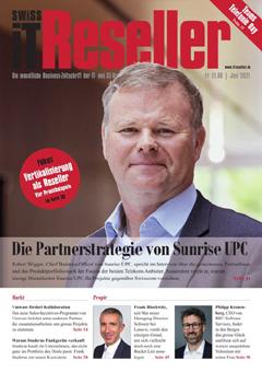 Swiss IT Reseller: Cover der Ausgabe 2021/06