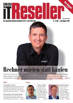 Swiss IT Reseller: Cover der Ausgabe 2021/07