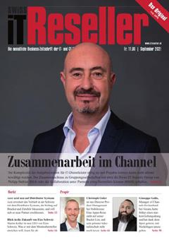 Swiss IT Reseller: Cover der Ausgabe 2021/09