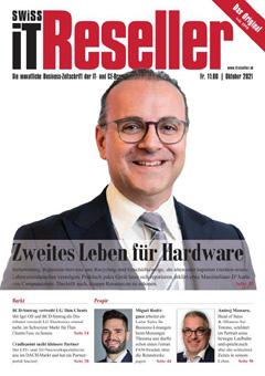 Swiss IT Reseller: Cover der Ausgabe 2021/10