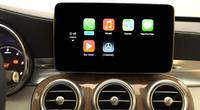 Mercedes demonstriert Apples Carplay