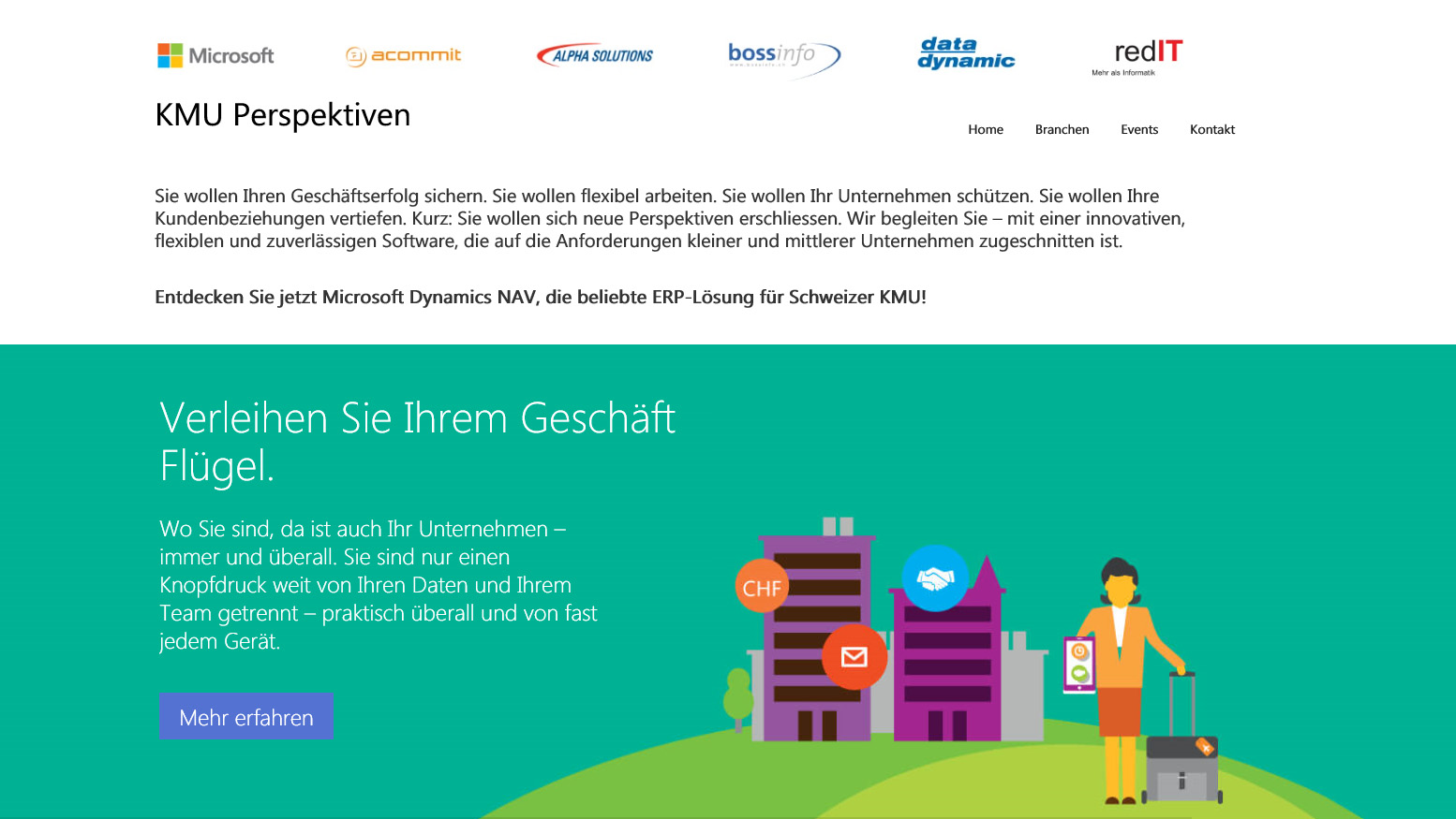 Acommit, Alpha Solutions, Boss Info, Data Dynamic, RedIT und Microsoft kooperieren