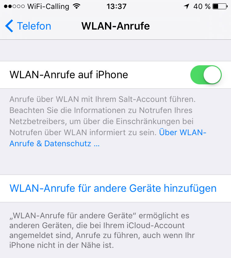 wifi phone calls iphone wifi calling auch mit dem iphone m 246 glich it reseller 16508
