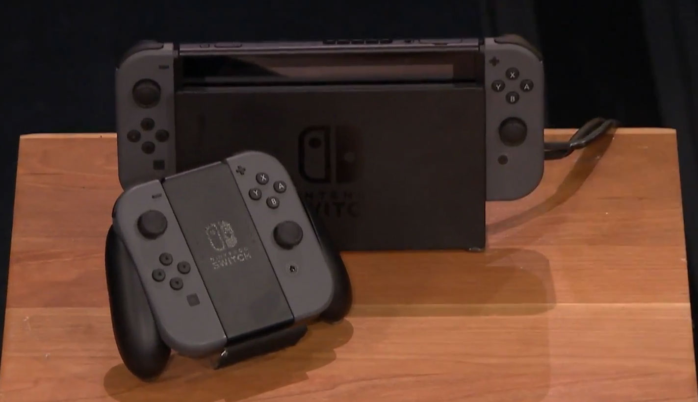 Nintendo demonstriert erstmals Switch-Konsole