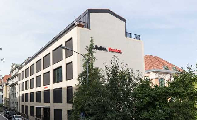 Namics hat neuen Sitz in St. Gallen
