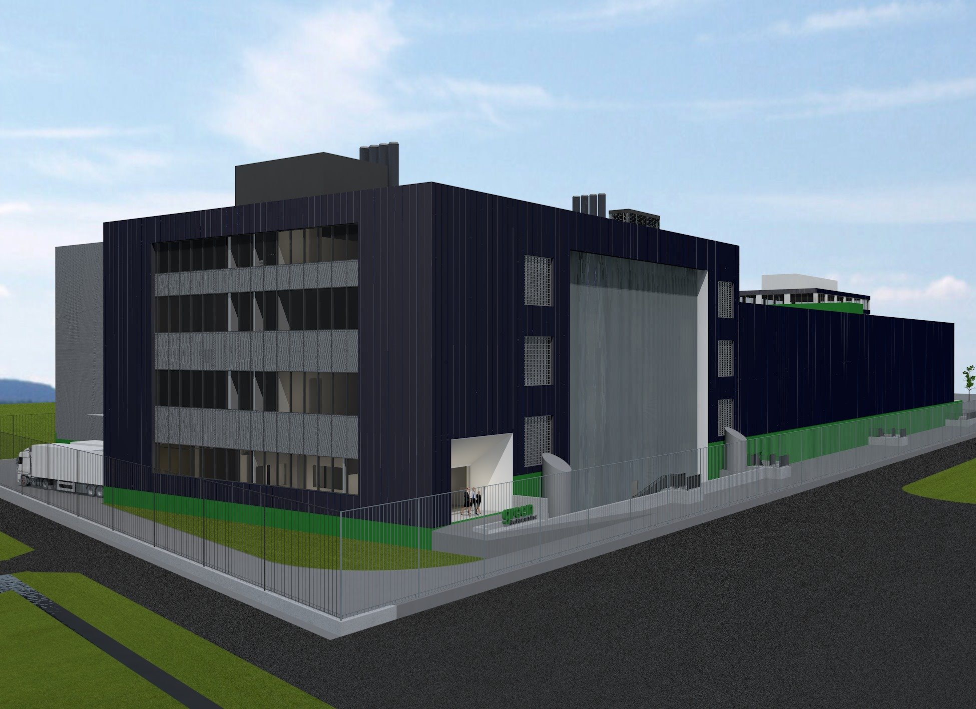 Green plant neues Modul für Datacenter in Lupfig