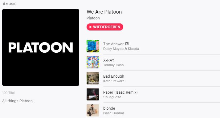 Apple schluckt Musik-Start-up Platoon