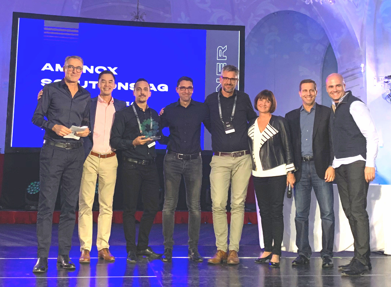 Amanox Solutions gewinnt Project of the Year Award von Rubrik