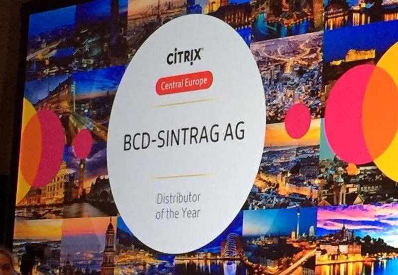 BCD-Sintrag ist Best Citrix Distributor in Central Europe
