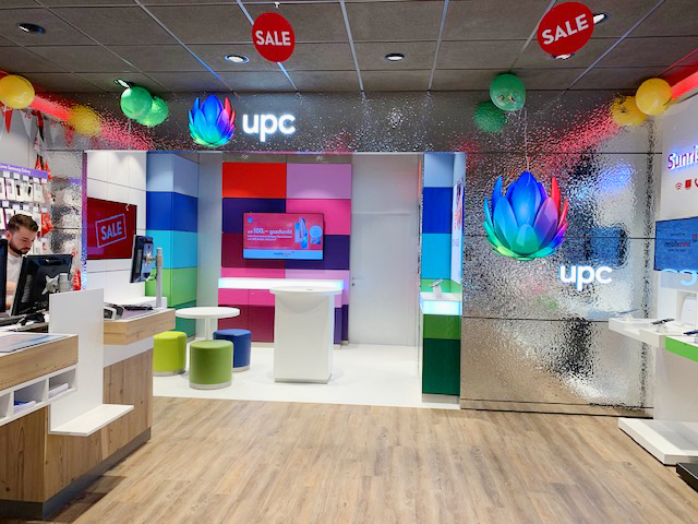 UPC Shop-in-Shops bei Mobilezone