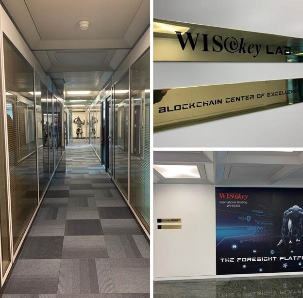 Wisekey eröffnet Blockchain Center of Excellence in Genf