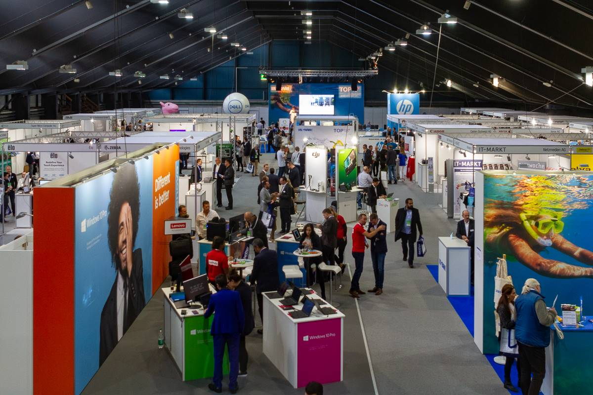 Impressionen von Ingram Micro's Messe Top18